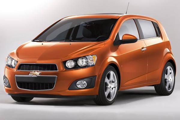 מאוד שברולט סוניק, Chevrolet Sonic - Auto1 RS-54
